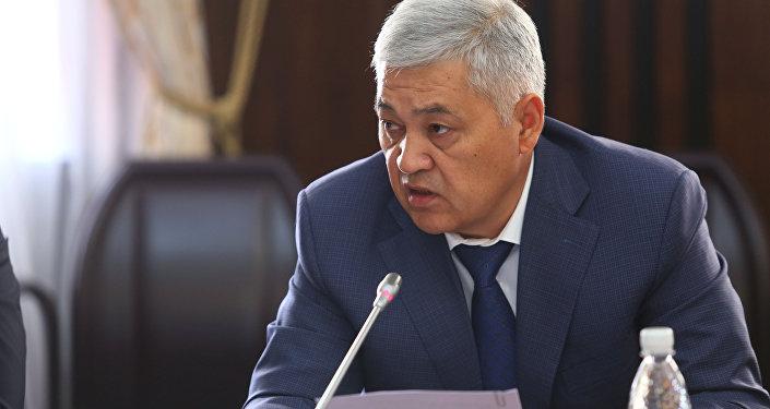 Архивное фото директора Антикоррупционной службы ГКНБ Дуйшенбека Чоткараева