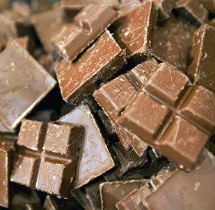 Плитки шоколада. Архивное фото