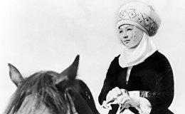 Кыргыз ССРинин эмгек сиңирген артисти, белгилүү киноактриса Таттыбүбү Турсунбаева
