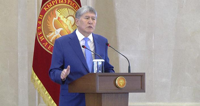 Алмазбек Атамбаев встретился спрезидентом Татарстана Рустамом Миннихановым