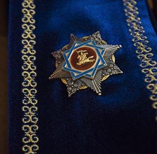 Орден Манас. Архивное фото