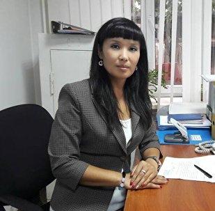 Эмгек жана социалдык өнүгүү министрлигинин үй-бүлө жана балдарды коргоо башкармалыгынын башкы адиси Гүлзина Бообекова
