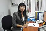 Эмгек жана социалдык өнүктүрүү министрлигинин үй-бүлө жана балдарды коргоо башкармалыгынын башкы адиси Гүлзина Бообекова