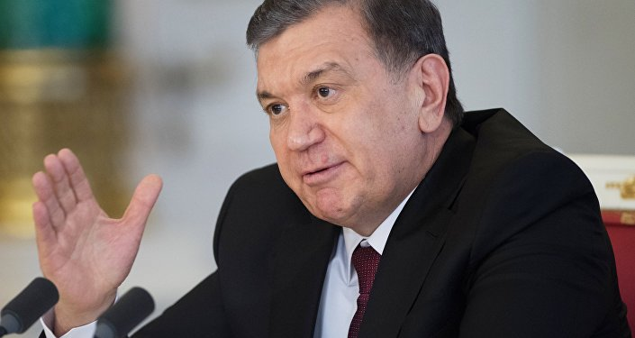 Өзбекстан президенти Шавкат Мирзиёев. Архивдик сүрөт