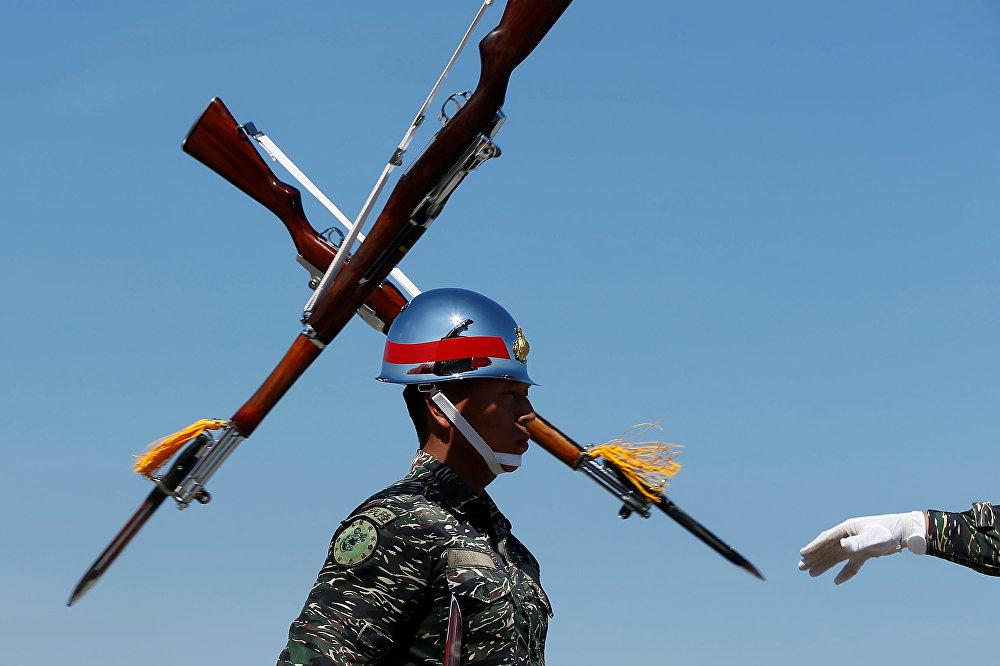 Военно-морская базе в Гаосюне. Тайвань