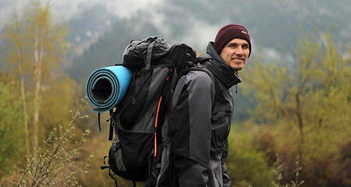 Молодой путешественник из Кыргызстана Максим Клейтор