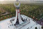 Открытие паямтника жертвам попытки переворота в Турции