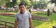 Один из организаторов игр на лошадях в Алае Абдилла Ташбеков