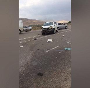 Бишкек — Кемин айланма жолунда эки автоунаа кагышты