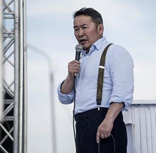 Монголиянын жаңы президенти Халтмаагийн Баттулганын архивдик сүрөтү