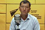 Мэриянын коомдук-мамлекеттик капиталдык курулуш башкармалыгынын башчысынын орун басары Алтынбек Абдыкеримов