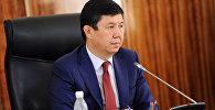 Архивное фото экс премьер-министра Темира Сариева