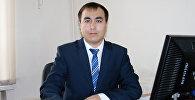 Мамлекеттик салык кызматынын маалыматтык камсыздоо бөлүмүнүн башчысы Эркин Сазыков. Архивдик сүрөтү