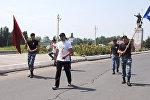 Өзбекстандын Ташкент шаарында өткөн самбо боюнча Азия чемпионатында ИИМдин Жалал-Абад облусундагы атайын багыттагы полктун милициясы Улан Абдимамат уулу алтын медаль алды