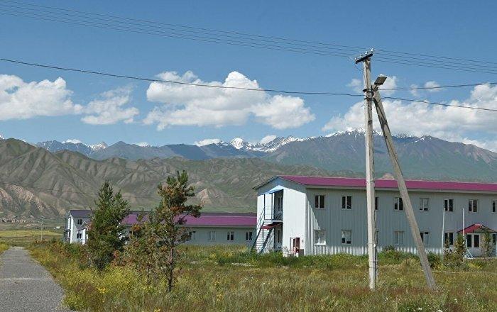 Вахтовый поселок на Верхне-нарынском каскаде