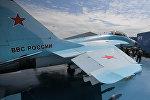 Многоцелевой истребитель МиГ-35, представленный на Международном авиационно-космическом салоне МАКС-2017 в подмосковном Жуковском.