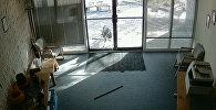 Козел с боем прорывался в офис компании по производству пластика в США