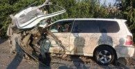 В крупной аварии на трассе Бишкек — Ош погибли восемь человек