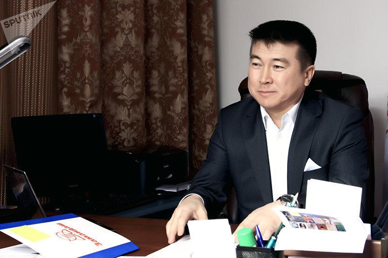 Предприниматель, первый председатель политической партии Замандаш Мухтарбек Омуракунов