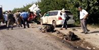 Что происходило после ДТП — видео очевидца с места страшной аварии