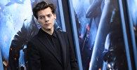 Акктер Гарри Стил на премьере фильма Дюнкерк в Нью-Йорке.  18 июля 2017 год