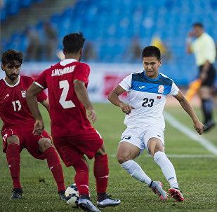 Матч Кыргызстан — Иран. Молодежная сборная