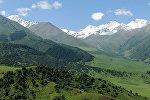 Ущелье Чункурчак в 45 километрах от Бишкека. Архивное фото