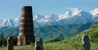 Башня Бурана в Чуйской области. Архивное фото