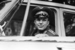 Биринчи космонавт Юрий Гагариндин архивдик сүрөтү