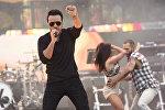 Дүйнөлүк хит болгон Despacito ырынын аткаруучусу пуэрто-рикалык ырчы Луиса Фонси концерт учурунда