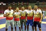 Өспүрүмдөр арасындагы Азия чемпионатында кыргызстандык балбандар грек-рим күрөшүнөн 7 медалга ээ болду