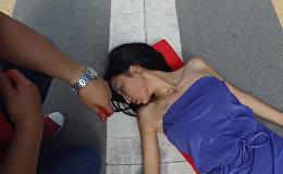 Красавицу сбила машина — первая помощь пострадавшим при ДТП