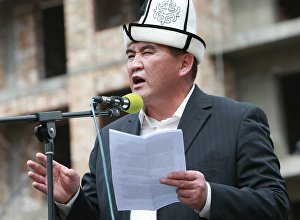 Архивное фото экс-депутата ЖК Камчыбека Ташиева