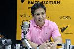 WEF федерациясынын президенти Руслан Кыдырмышевдин архивдик сүрөтү