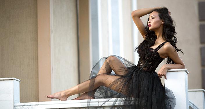 Мисс Кыргызстан-2016, модель Милан Жанибекова