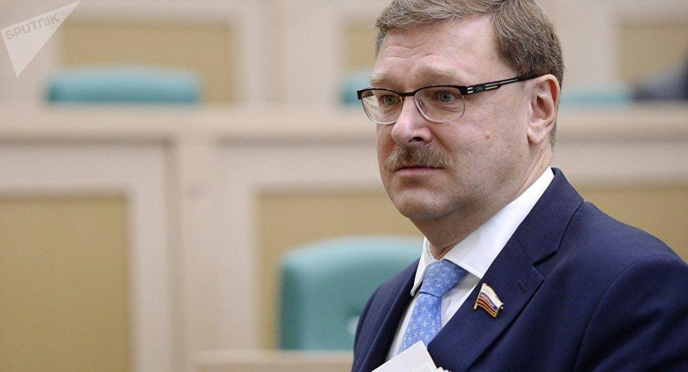 Глава Комитета по международным делам Совета Федерации РФ Константин Косачев. Архивное фото