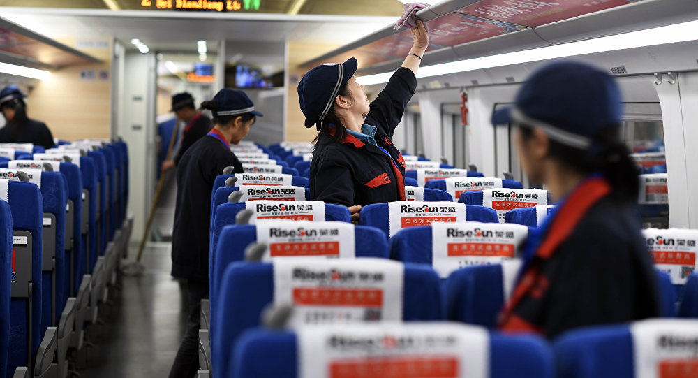 Китайцы испытывают сверхбыстрый небесный поезд
