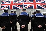 Британские моряки-подводники. Архивное фото