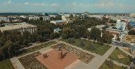 Памятник борцам революции в Бишкеке. Архивное фото