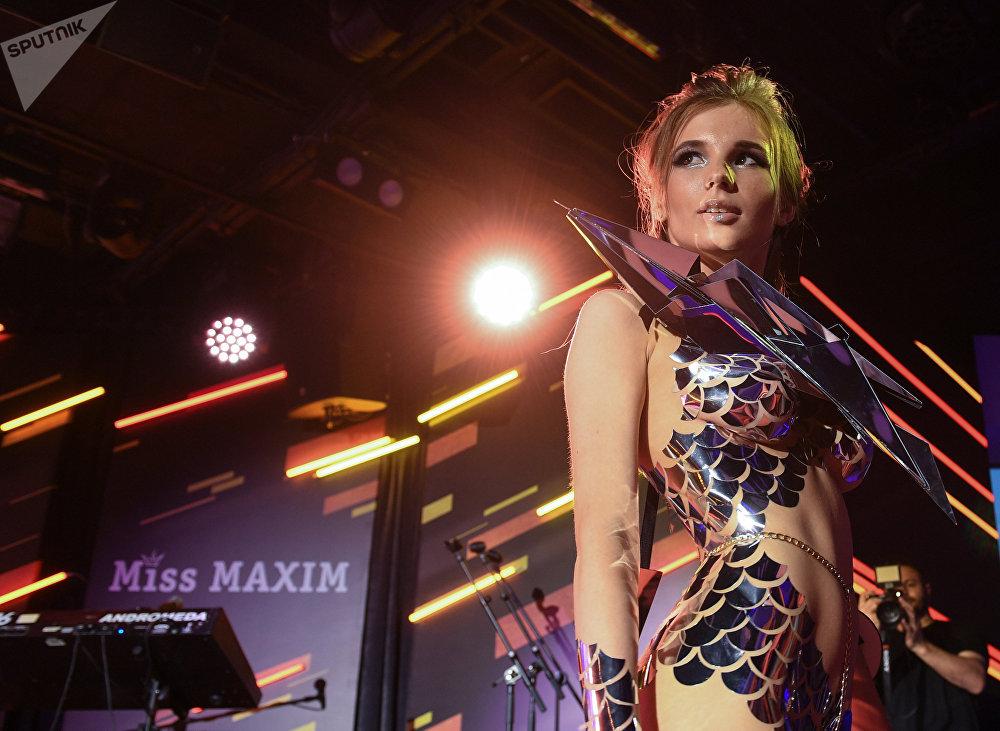 Финал ежегодного всероссийского конкурса Miss Maxim 2017