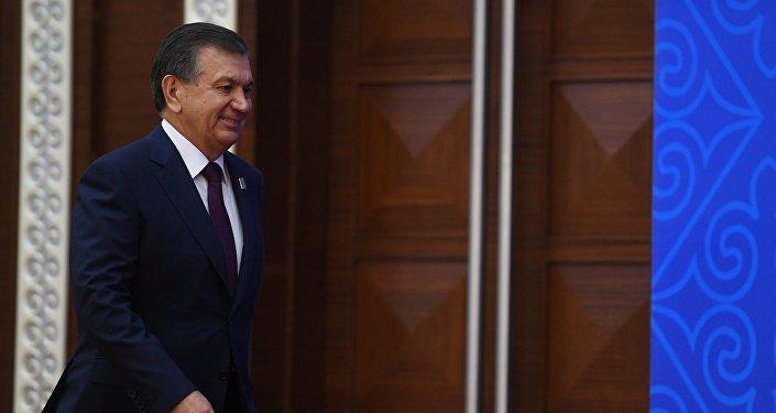 Өзбекстандын президенти Шавкат Мирзиёевдин архивдик сүрөтү