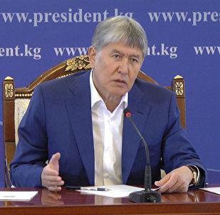 Госдеп подталкивал Узбекистан к конфликту с Кыргызстаном — Атамбаев