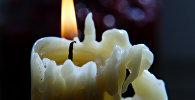 Свеча в квартире. Архивное фото