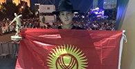 Астана шаарында өткөн International Street Dance Session бий фестивалына катышкан 14 жаштагы Темирлан Ташматов