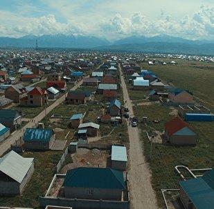 Новостройка на окраине Бишкека. Архивное фото