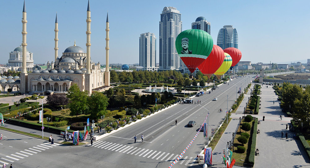 Гуляния по случаю празднования города Грозного. Архивное фото