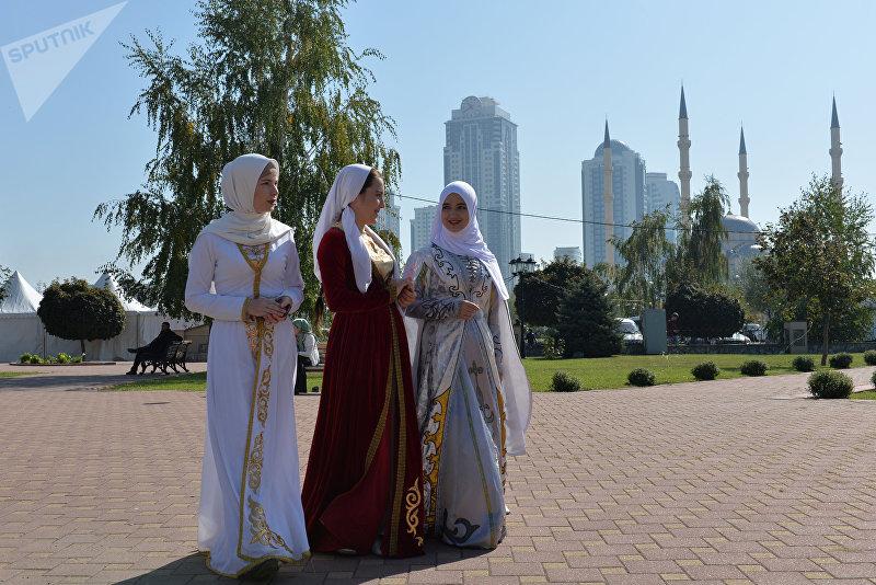 День города в Грозном