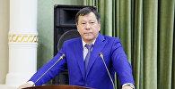 Архивное фото министра внутренних дел Таджикистана генерала Рамазона Рахимзода Хамро