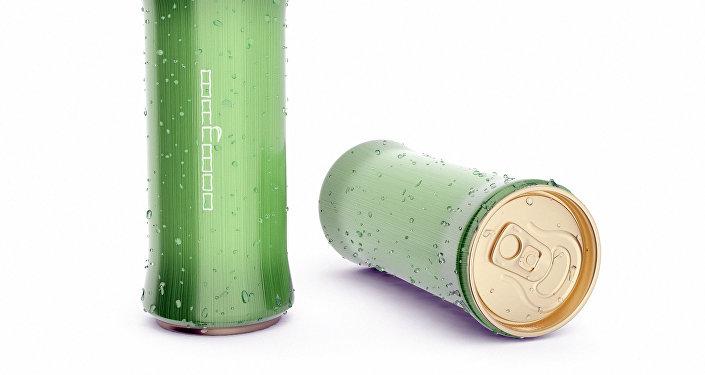 Концепция упаковки для прохладительных напитков Bamboo, разработанный кыргызстанским дизайнером Марселем Шейшеновым