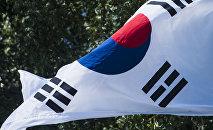Түштүк Кореянын мамлекеттик желеги. Архив
